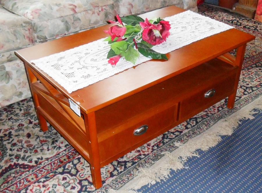 moderner couchtisch kirschbaum optik ebay. Black Bedroom Furniture Sets. Home Design Ideas