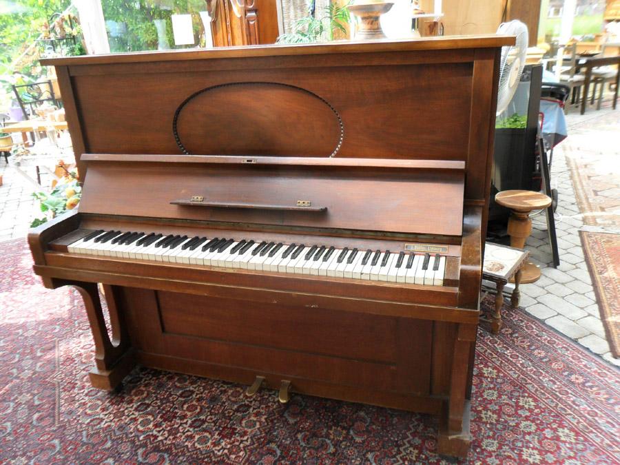 antikes klavier von gebr zimmermann leipzig ebay. Black Bedroom Furniture Sets. Home Design Ideas