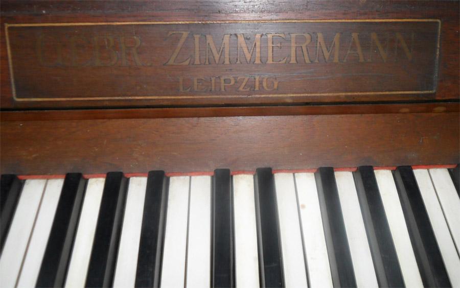 Antikes Klavier Von Gebr Zimmermann Leipzig Ebay