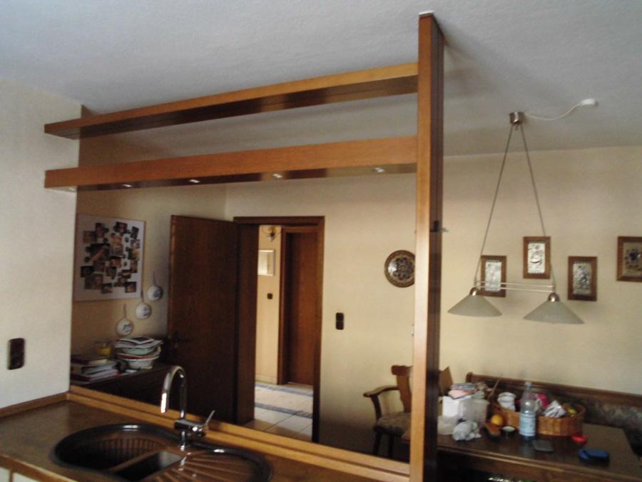 gebrauchte sch ne k chenzeile u form mit e ger ten ebay. Black Bedroom Furniture Sets. Home Design Ideas